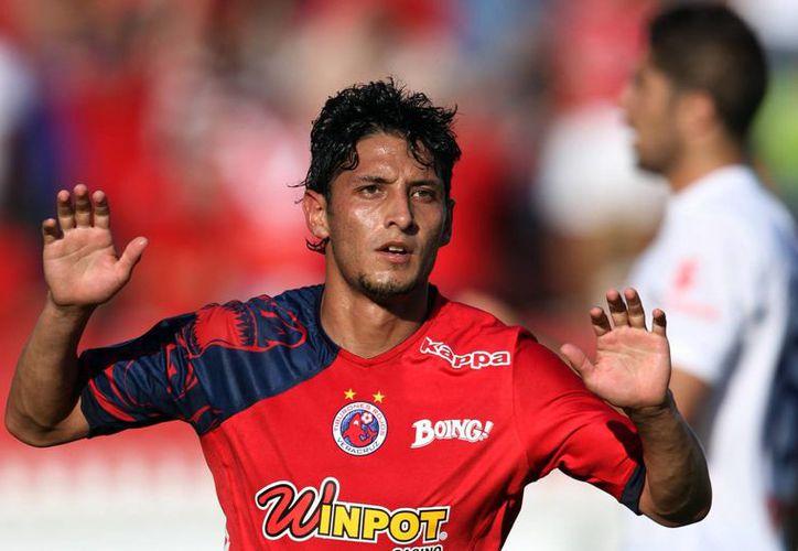 Ángel Reyna jugó con Veracruz en el Apertura 2013, torneo en el que terminó con uno de los mejores goleadores.(Archivo/SIPSE)