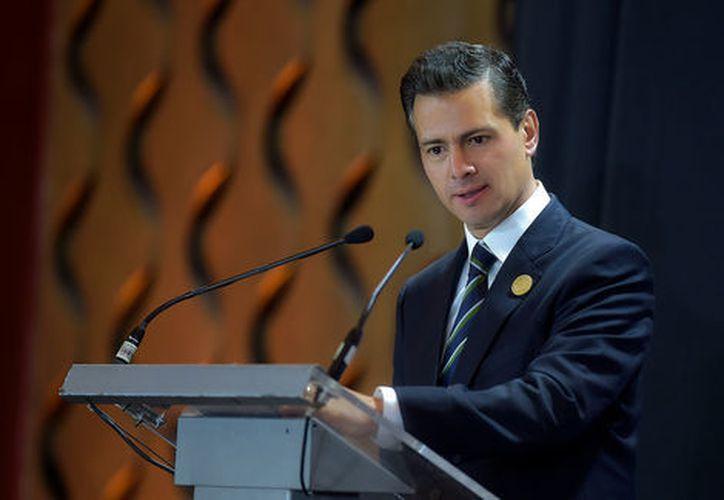 El presidente de México envió condolencias a las familias de las víctimas. (Milenio)