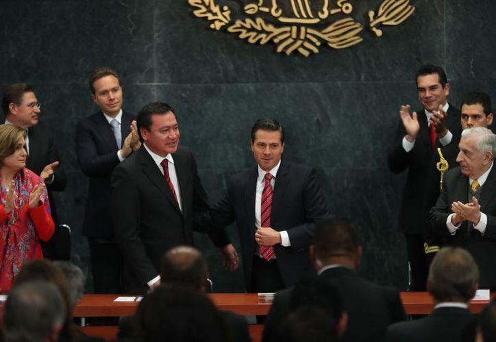 Osorio Chong buscará ser Senador en la próxima legislatura. (El Financiero)