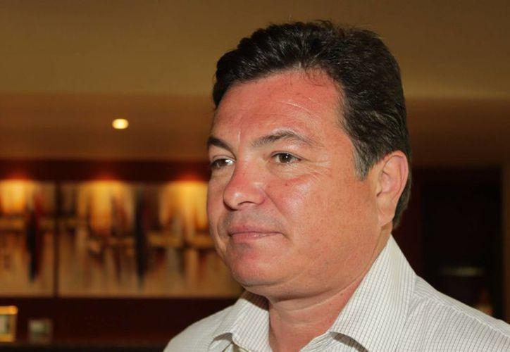 Juan Carlos González, titular de la Secretaría de Turismo estatal. (Adrián Barreto/SIPSE)
