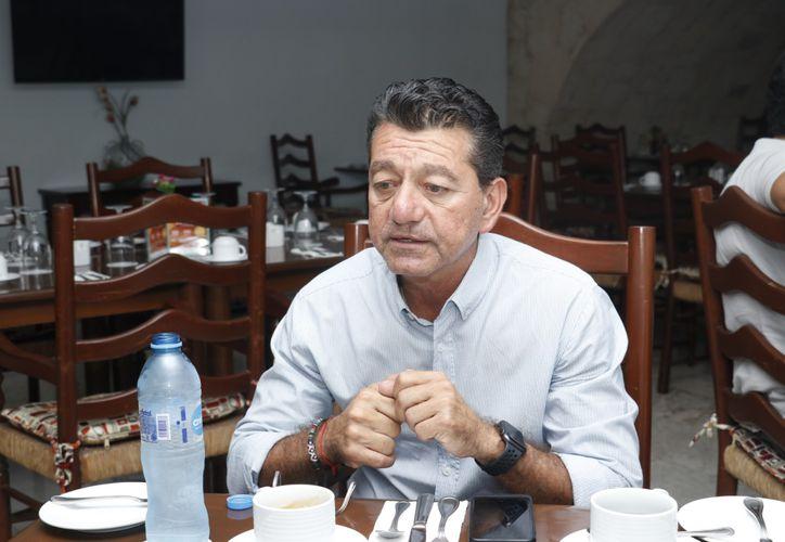 Ricardo Siqueff,  gerente de proyectos  de la UNAM. (Foto: José Acosta/Novedades Yucatán)