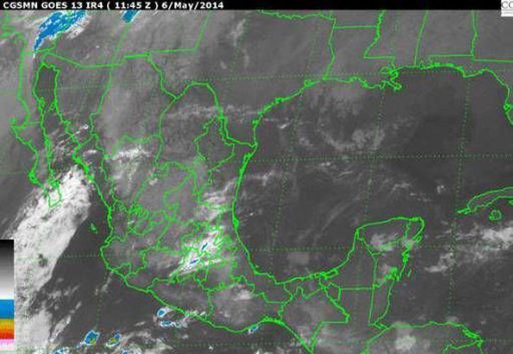 Las lluvias serán ocasionadas por un canal de baja presión que se extenderá sobre la sonda de Campeche y el sureste mexicano. (Redacción/SIPSE)