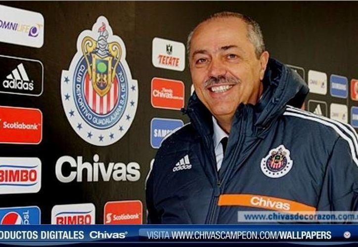 Juan Manuel Herrero llegó a Chivas en 2013. (SIPSE/Archivo)