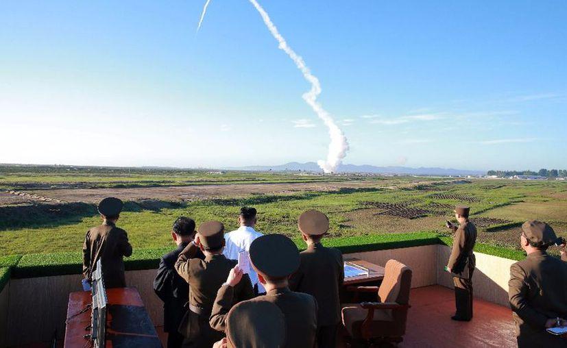 Corea del Norte lanzó el lunes nuevamente un misil. Japón lo consideró una provocación. (Foto: Xinhua)