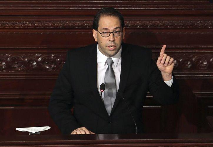 Youssef Chahed, nuevo primer ministro de Túnez, recibió del Parlamento 167 votos a favor, 22 votos en contra y cinco abstenciones. (EFE)