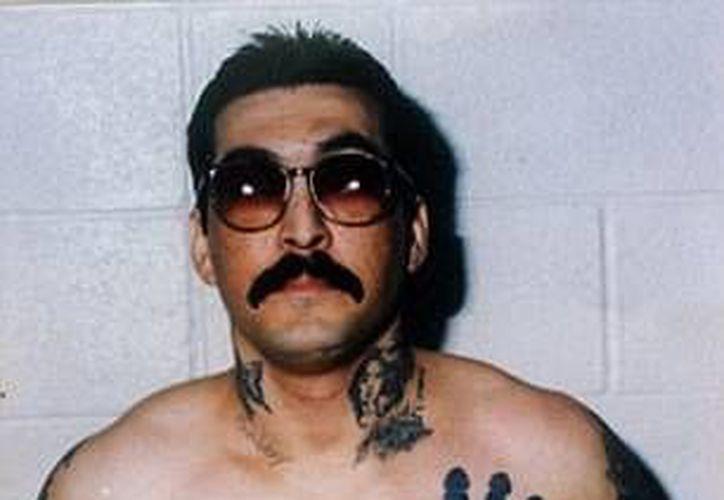 René 'Boxer' Enríquez, exlíder de la pandilla Mafia Mexicana, cumple una cadena perpetua por asesinato. (dailymail.co.uk)
