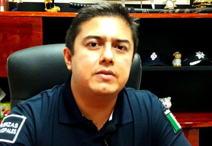 Ex secretario de Seguridad Pública del municipio de Benito Juárez, Cancún, Jonathan Yong. (Contexto/Internet)