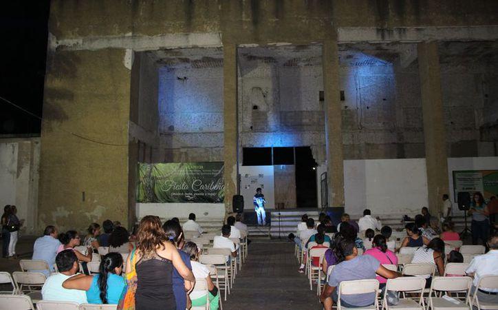 La presentación del proyecto a las autoridades se realizó en medio de una velada musical. (Joel Zamora/SIPSE)