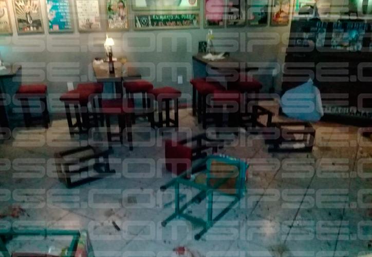 El pasado 3 de noviembre, sujetos tiraron una granada en las inmediaciones del bar. (Redacción)