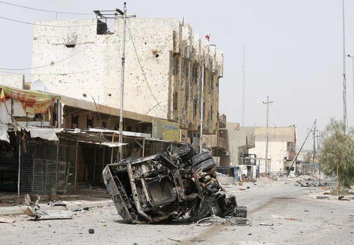 El atentado se produjo un día después de que Iraq declaró que la completa liberación de la ciudad de Faluya. (Agencias)