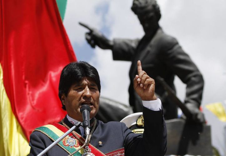 """Morales anunció: """"estamos preparados para acudir a tribunales internacionales"""". (Agencias)"""