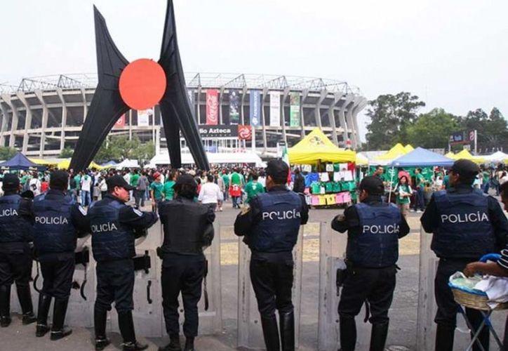 Habrá filtros de revisión en el Estadio Azteca para evitar que se ingrese con objetos que puedan dañar a los presentes. (Vanguardia MX)