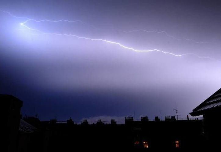 La caída del rayo se registró en la zona de Chíquiza, al noreste de Bogotá. (Archivo/SIPSE)
