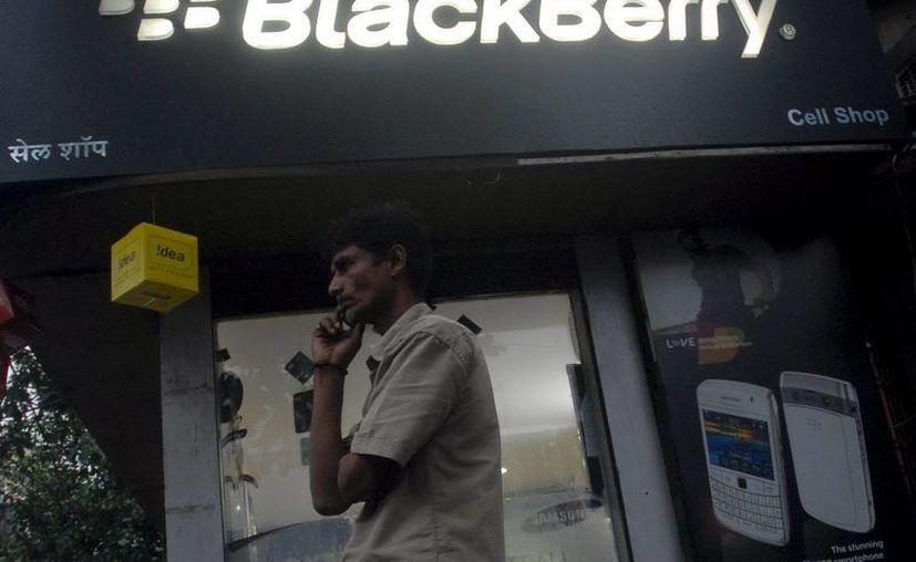 Se suspendió la cotización de las acciones de BlackBerry en los mercados de valores de Toronto y Nueva York. (Archivo/EFE)