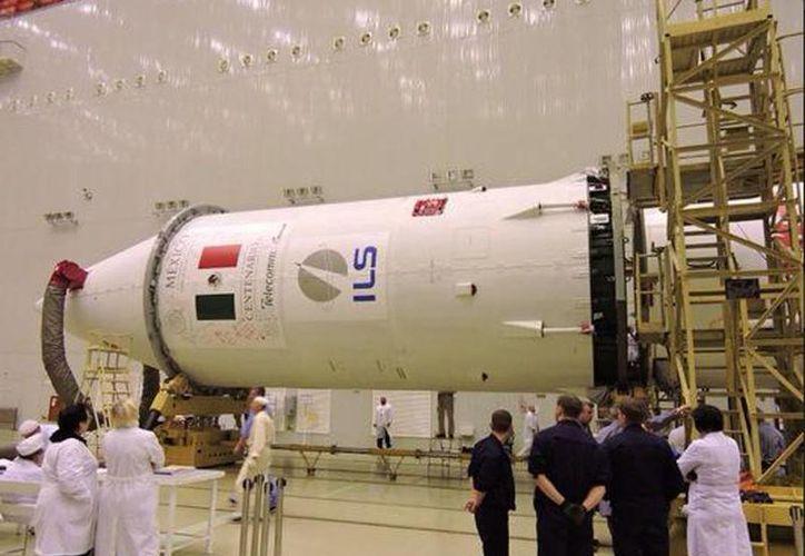 El satélite Centenario debió ponerse en órbita el fin de semana pasado. (twitter/@conagua_clima)