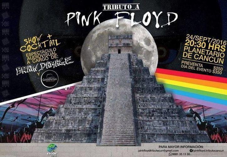 En septiembre se llevará a cabo el concierto Tributo a Pink Floyd en el Planetario de Cancún. (Redacción/SIPSE)