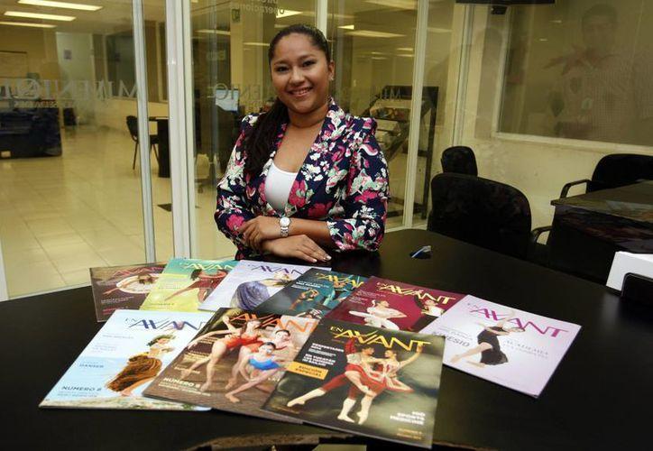 Patricia Molina(foto), directora de la revista Avant Dance Magazine, se encuentra promoviendo el espectáculo en la que participarán 12 escuelas de baile. (César González)