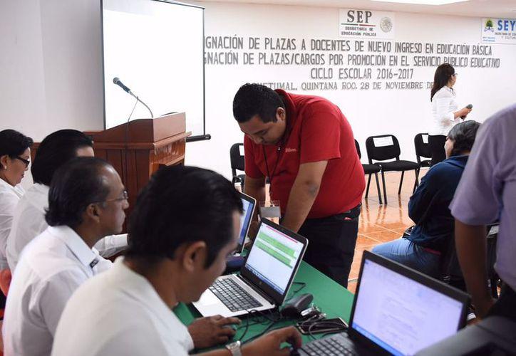Los días 24 y 25 de junio, se aplicará la última evaluación. (Joel Zamora/SIPSE)