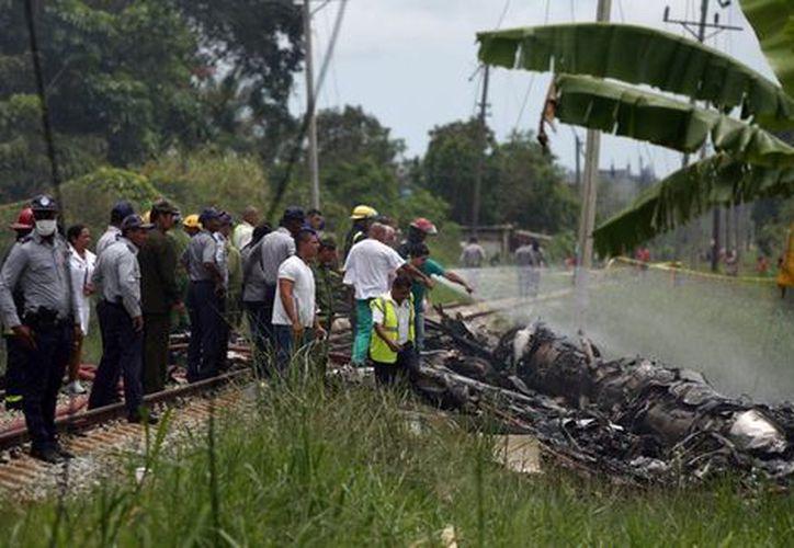 El saldo del accidente en Cuba es de tres sobrevivientes y 107 muertos, seis de estos últimos, eran de nacionalidad mexicana. (Milenio)