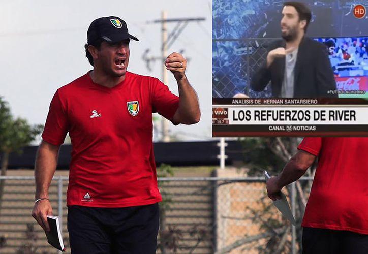 Marioni, diretor técnico de los Venados F.C., salió en defensa del futbol mexicano tras las agresiones verbales lanzadas por varios de sus compatriotas en un programa de televisión. (Venados/Youtube)