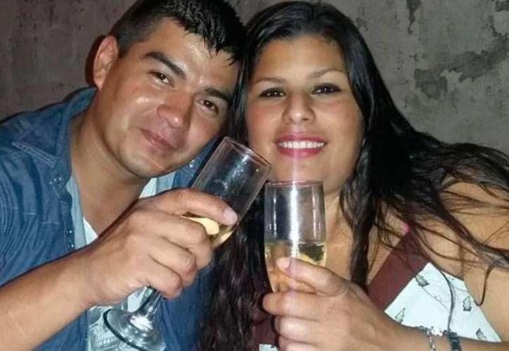 Diego Loscalzo con Romina Maguna cuando eran pareja. (www.infonews.com)