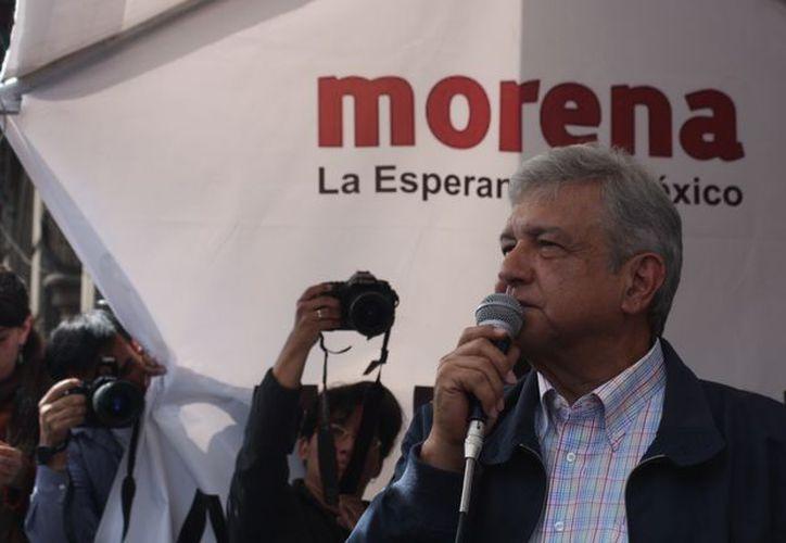 También puntualizó que él será el presidente que termine con la corrupción que se vive en el país. (Foto: Chihuahua Noticias).