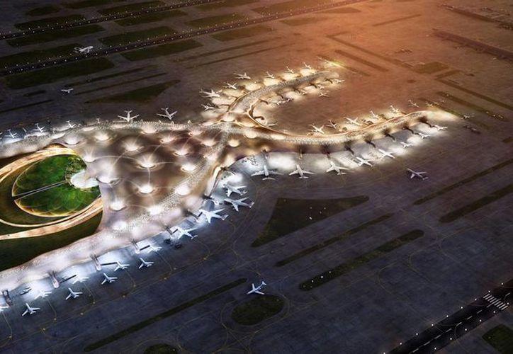 El nuevo aeropuerto capitalino cuenta con un diseño de ingeniería de clase mundial, que permitirá tener una terminal sustentable y de vanguardia. (Facebook/ Nuevo Aeropuerto MX)