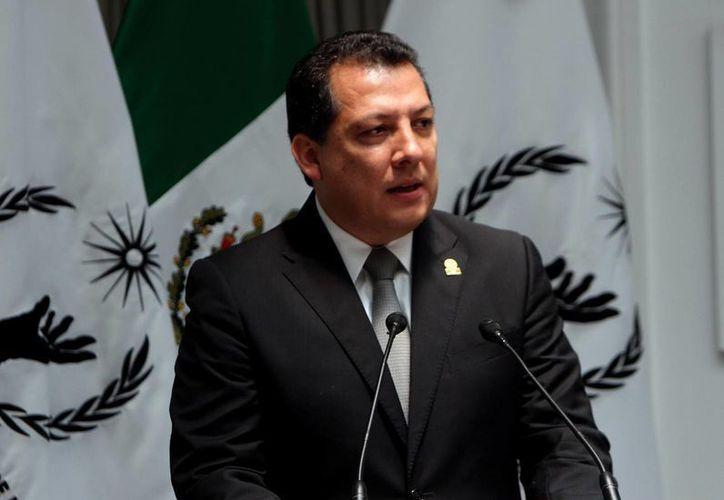 El actual titular de la CNDH, Raúl Plascencia, concluye su encargo el próximo mes de noviembre, pero puede aspirar a una reelección.  (Archivo/Notimex)