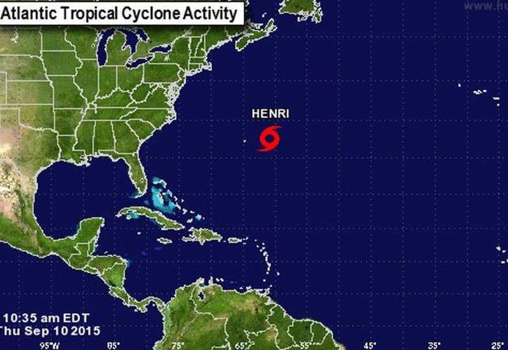 'Henry' es la octava tormenta tropical de la temporada de huracanes de la Cuenca Atlántica. (twitter/@DAVIDROMEROVARA)