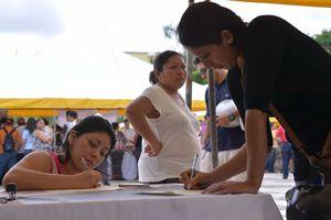 La feria del empleo en Cozumel