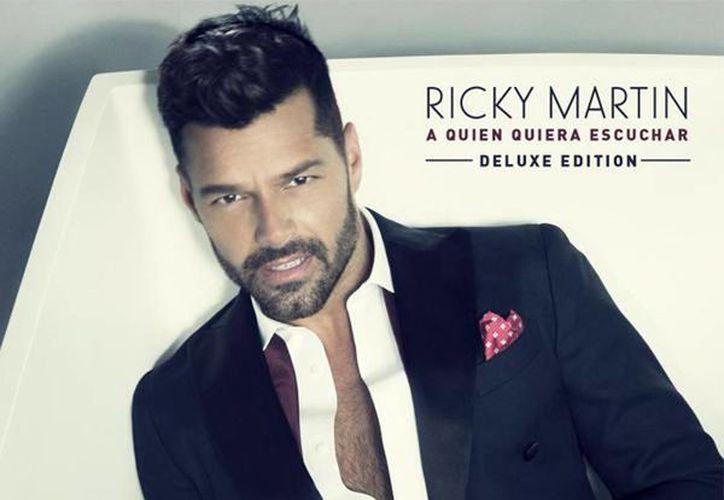 El cantante puertorriqueño Ricky Martin, ganador de premios Grammy y Billboard, lanzó a nivel internacional y en todos los formatos de distribución su nueva producción discográfica titulada A quien quiera escuchar. (@ricky_martin)