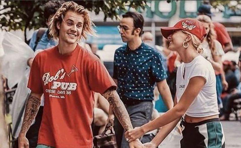 El cantante Justin Bieber y Hailey Baldwin tardaron casi dos meses en confirmar su matrimonio. (Instagram)