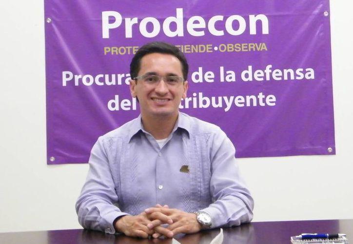 Ponce Hernández explicó que cuentan con nueve facultades, de las cuales las más recurrentes son el servicio de asesoría. (Jaime Tetzpa/SIPSE)