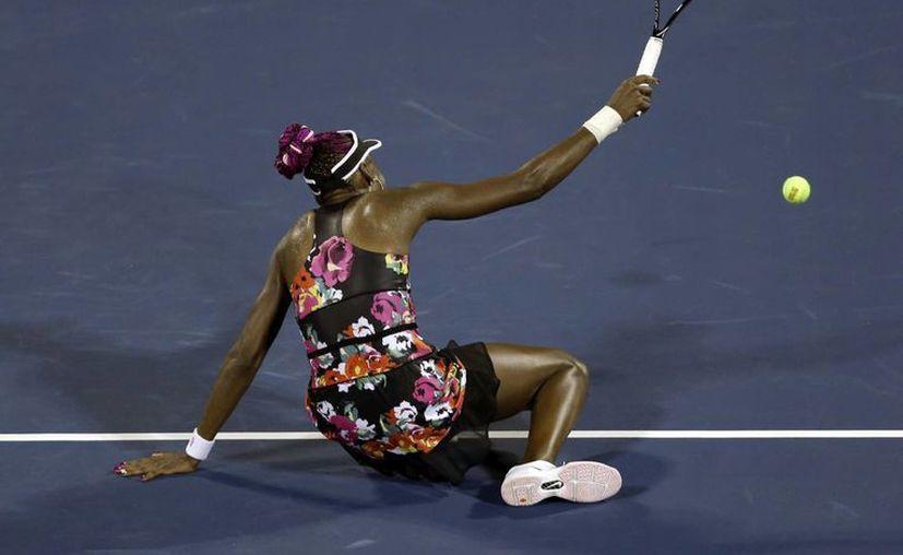 Venus, de 33 años, no gana el Abierto de su país desde hace 12 años. (Agencias)