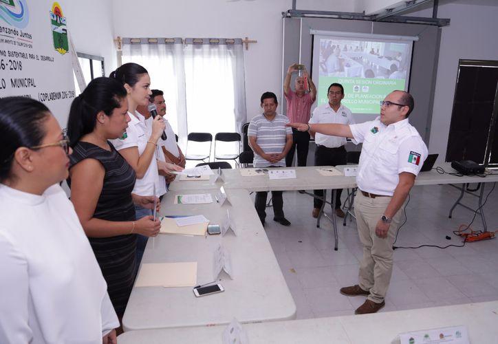 El director formó parte de la Quintana Sesión Ordinaria del Ayuntamiento. (Redacción)
