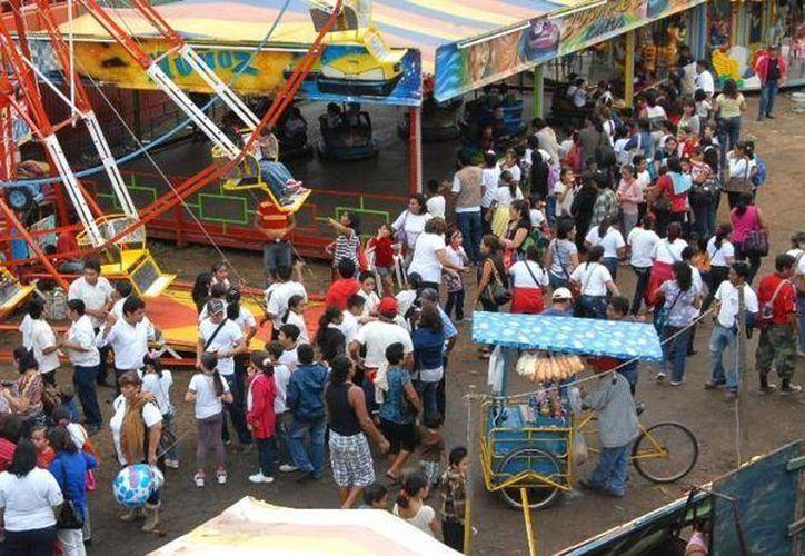 El caso de la menor de Durango se descubrió en la expo feria de Valladolid, a donde corresponde la imagen. (SIPSE)
