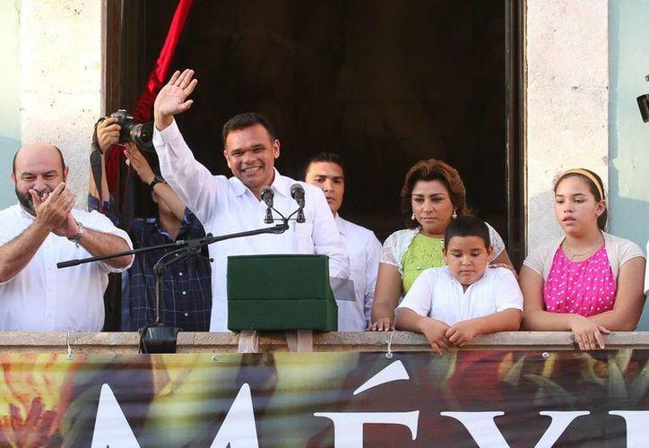 El Gobernador resaltó que es tiempo de unidad. (Milenio Novedades)