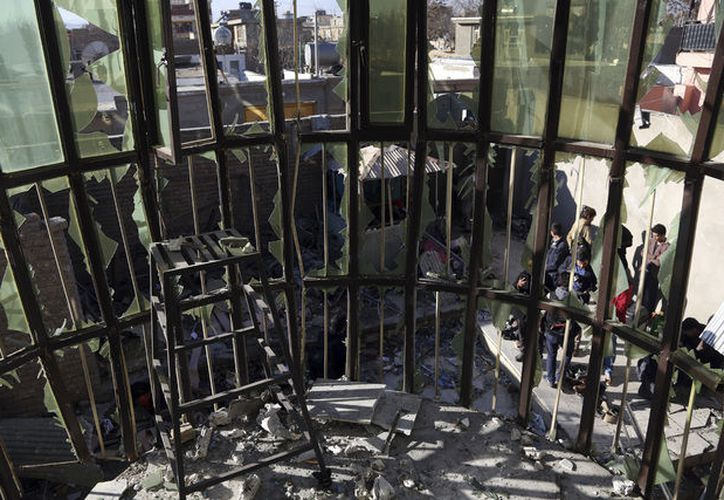 Los talibanes se desvincularon del atentado en Kabul. (AP)
