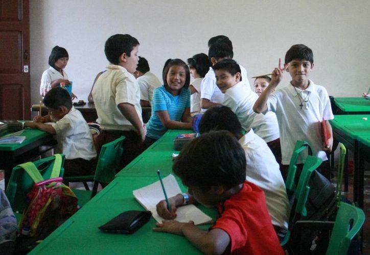 Cabe la posibilidad que los alumnos tengan más días de clase, se confirmará la próxima semana. (Archivo SIPSE)