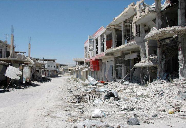 Las fuerzas leales al presidente sirio se hicieron con el control de las poblaciones de Al Masudiya y Al Salehiya. (Agencias)