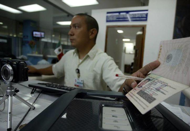 Desde el 2007, el tema del pasaporte es considerado una cuestión de seguridad nacional. (Milenio Novedades)