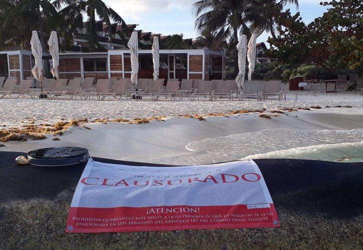 Las primeras obras fueron clausuradas por la Profepa en marzo pasado. (Octavio Martínez/SIPSE)