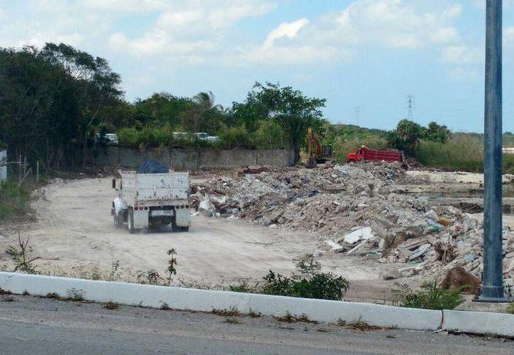 El predio se encuentra ubicado en el kilómetro 28.5 del Bulevar Kukulcán de Cancún. (Redacción/SIPSE)