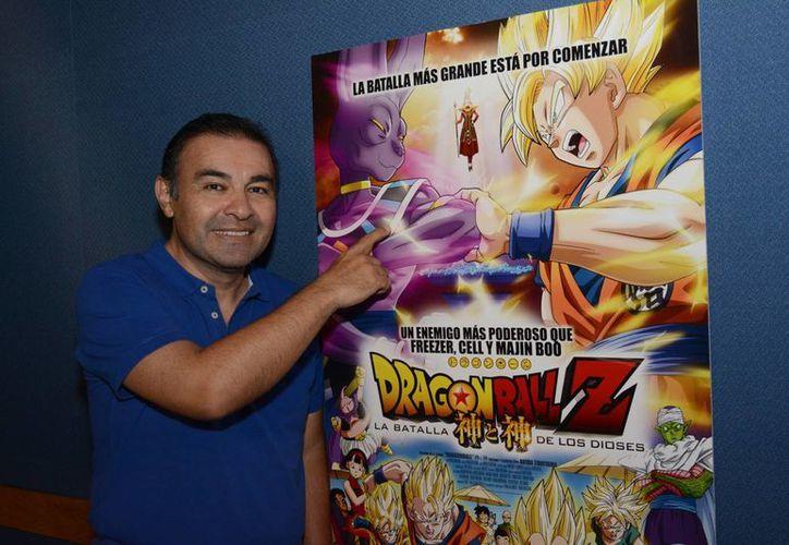 Mario Castañeda, es conocido por prestar su voz a Goku. (Foto de Contexto/Internet)