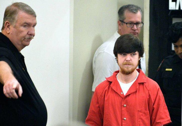 Ethan Couch a su llegada el miércoles 13 de abril de 2016 a la corte del condado de Tarrant, en Fort Worth, donde escuchó su sentencia. (Foto: AP)
