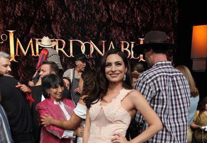 """La actriz Ana Brenda Contreras debutó en la obra musical """"Mentiras"""", mientras trabaja en un protagónico de televisión. (Archivo/Notimex)"""