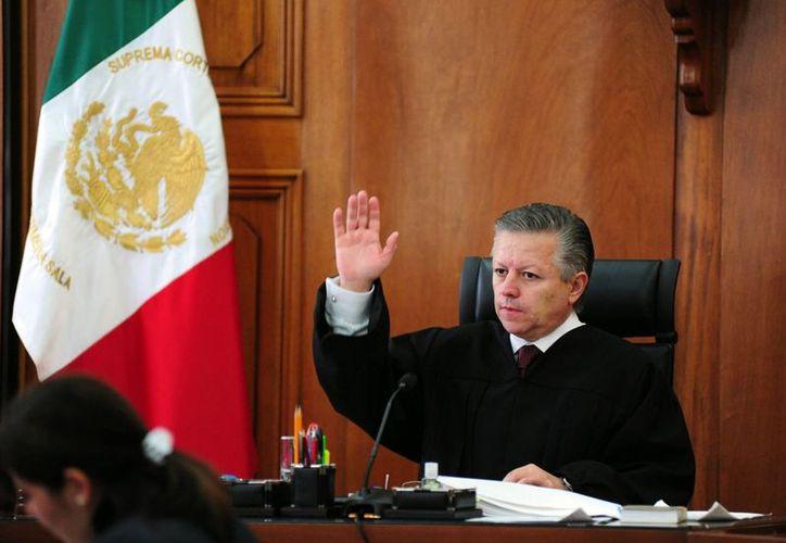 """Ahora """"es impensable que en México se dé un montaje como el que se dio con Florence Cassez"""", afirma el ministro Arturo Zaldívar. (Archivo/Notimex)"""