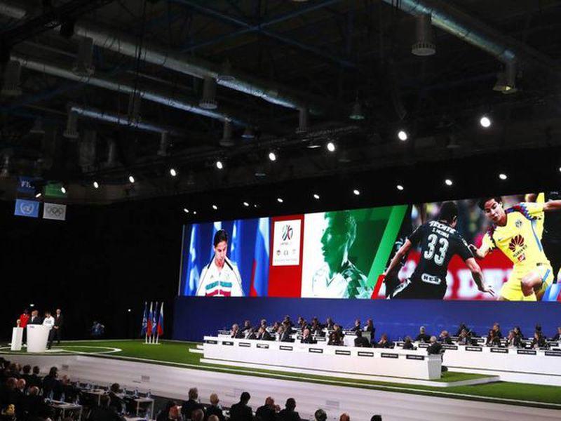 El futbolista Diego Lainez representó a México en el nombramiento como sede compartida del Mundial 2026 (Foto: as.com)