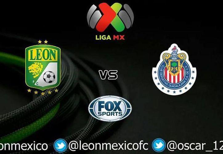 El bicampeón León se juega el sábado ante Chivas una de sus últimas cartas para clasificar a la liguilla del Torneo Apertura 2014. (Facebook/Club Leon FC)