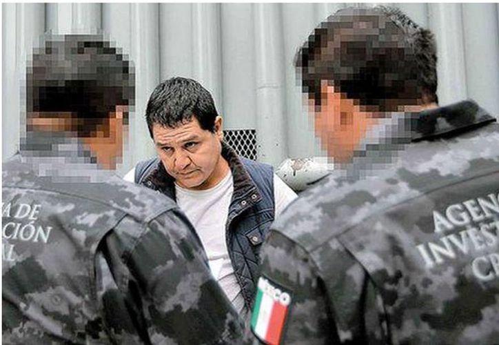 Gildardo López Astudillo, El cabo Gil, autor material del asesinato de los normalistas de Ayotzinapa, fue detenido  la noche del martes 15 de septiembre. (Milenio)